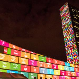 The launch of SDGs in NY
